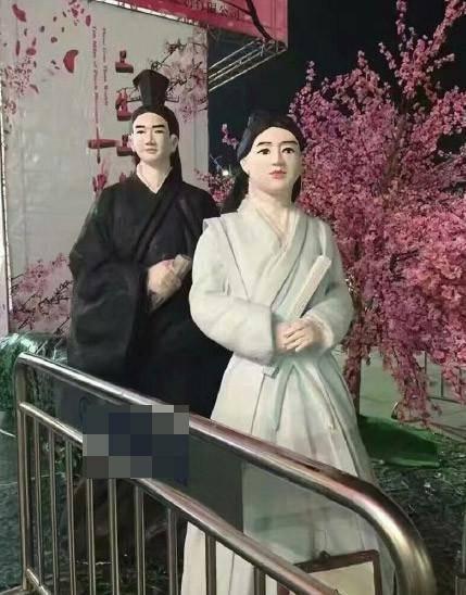 沈阳山寨蜡像馆丑出新高度 名人造型乡土风