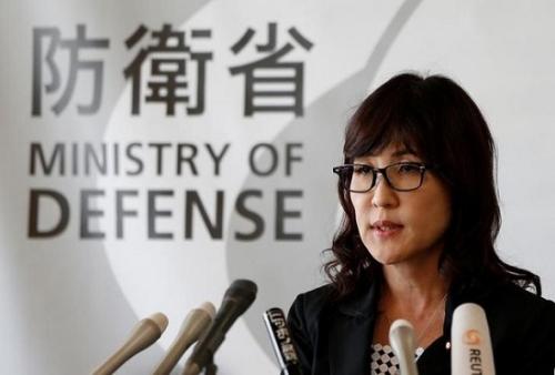 资料图:日本防卫相稻田朋美