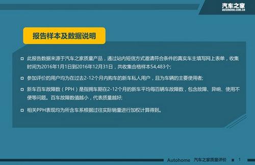"""""""3・15""""中国新车质量盘点:整体质量小幅提升"""