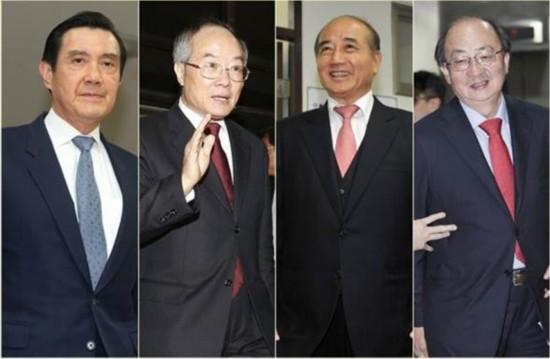 马英九被起诉 国民党内同仇敌忾齐声援