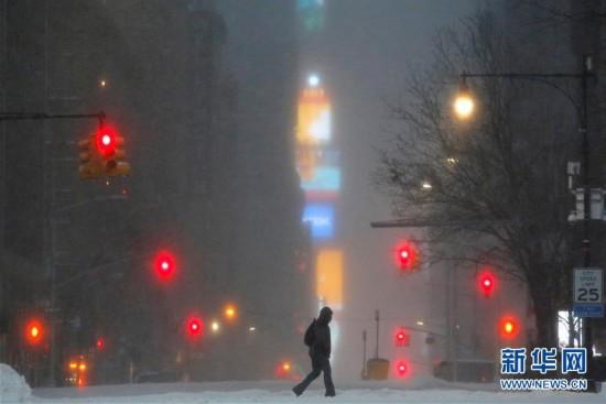 美国东北部遭遇暴风雪(组图)