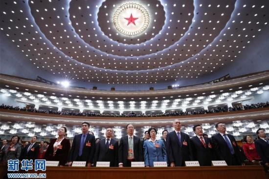 (两会・人大闭幕)(8)十二届全国人大五次会议在北京闭幕
