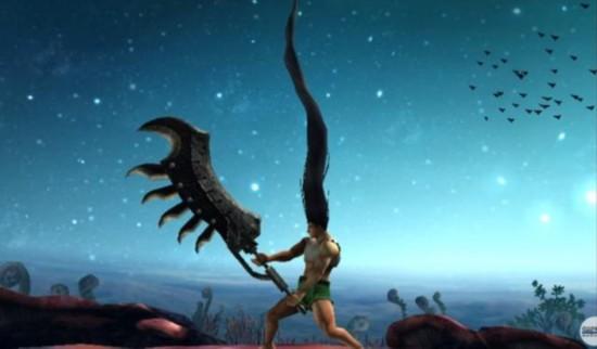 小杰黑长直扎天《猎人》《怪物猎人XX》联动PV公开