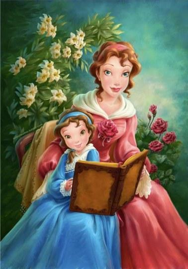 外国网友大胆猜测:《美女与野兽》贝儿妈妈是女巫