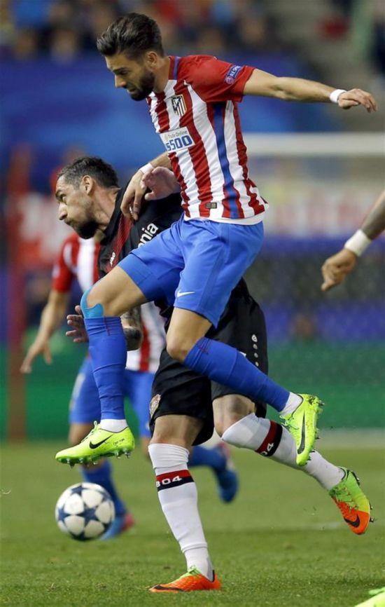 (体育)(2)足球――欧冠:马德里竞技晋级八强