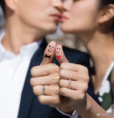 安以轩微博宣布结婚!闪嫁百亿CEO