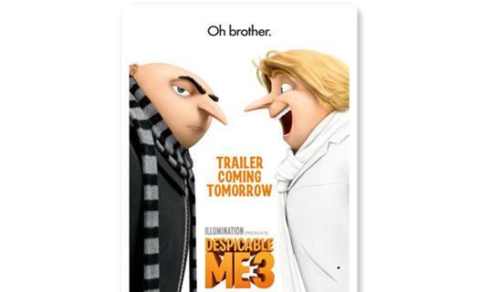 格鲁的双胞胎弟弟现身 《神偷奶爸3》新预告公开