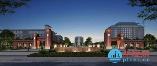 平潭首个大学开建,高清效果图抢先曝光!