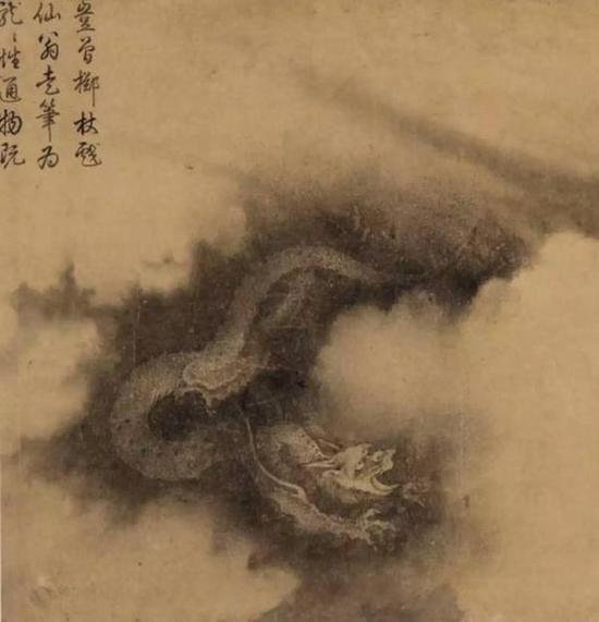 陳容《六龍圖》手卷(局部)