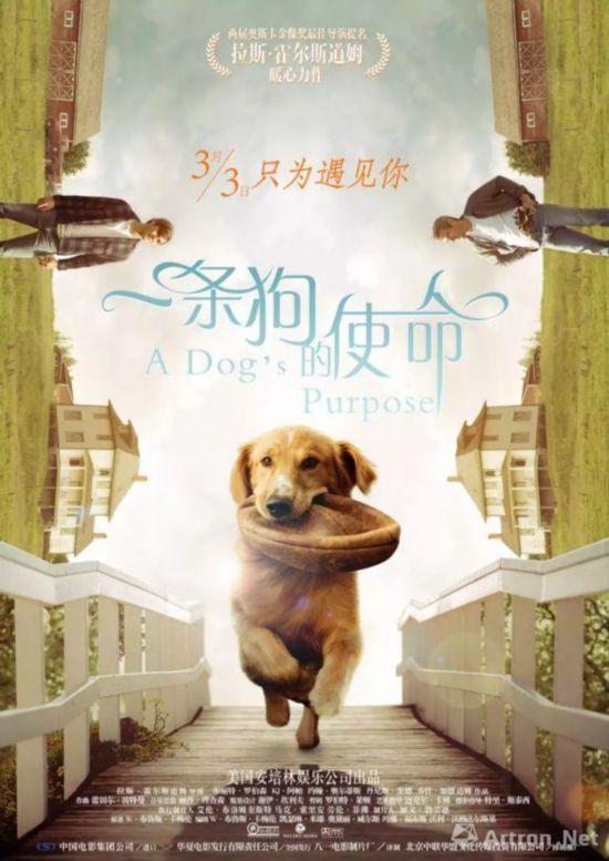 《一条狗的使命》电影海报