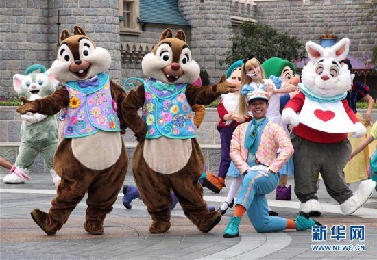 """香港""""迪士尼明星春日嘉年华""""即将开启"""