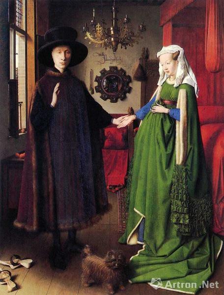 阿尔诺芬尼夫妇像 凡.艾克 1434年