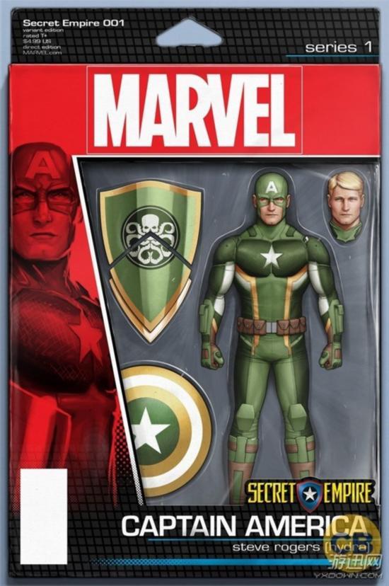 《秘密帝国》初章美国队长模型