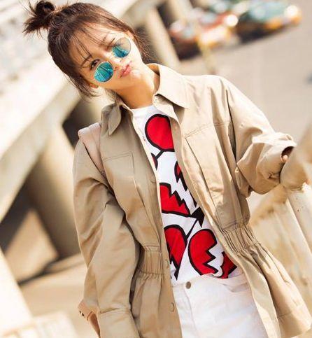 恋爱中的杨紫发型更美了人也更时髦了