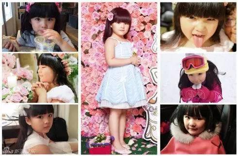 1、Angela王诗龄-张梓琳晒长腿女儿 女儿与爱犬相亲相爱画面温馨
