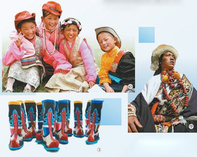 藏族服饰 雪域高原的亮丽标识