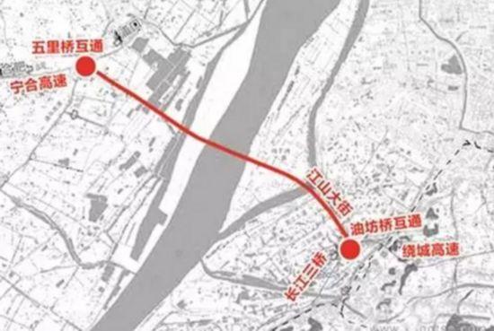 南京长江五桥下月动工 4年后通车分担6%过江车流
