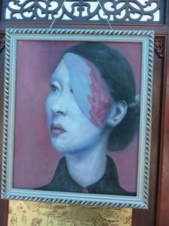 《15℃灰度》――张春艺油画艺术作品展 在开封大学开幕