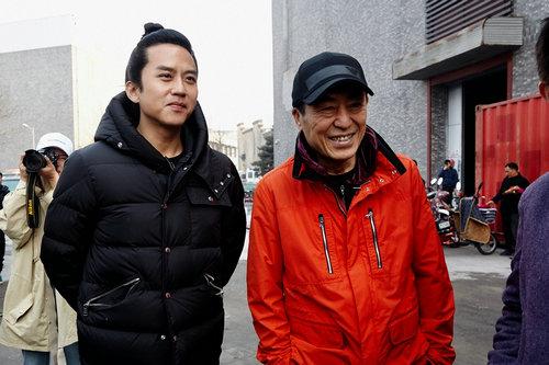 邓超主演张艺谋新片《影》 神秘造型半曝光