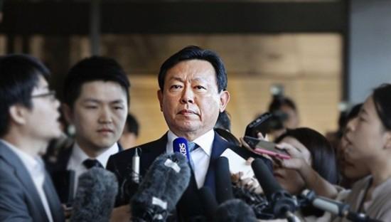 乐天首席执行官被韩法院传唤 涉贪污和违反信任罪