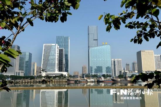 海峡金融商务区落地运营金融、类金融企业近500家