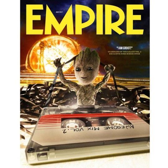 萌翻!《银护2》小树精登《帝国》杂志封面