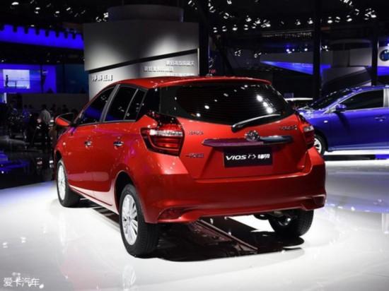 一汽丰田威驰FS配置曝光 1.3L 1.5L动力高清图片