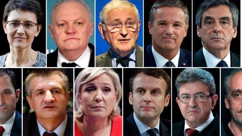 法国大选候选人名单正式出炉 2女9男大战打响