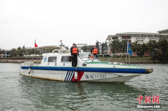 海南海事局开展博鳌核心水域巡航检查