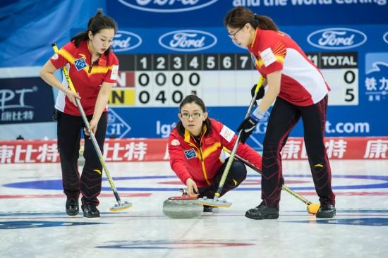 女子冰壶世锦赛开赛