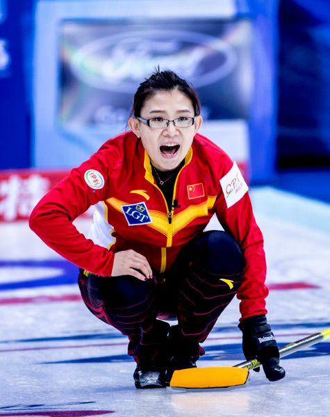 女子冰壶世锦赛开赛【2】