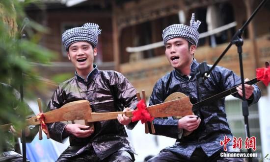 贵州从江举行侗歌大赛