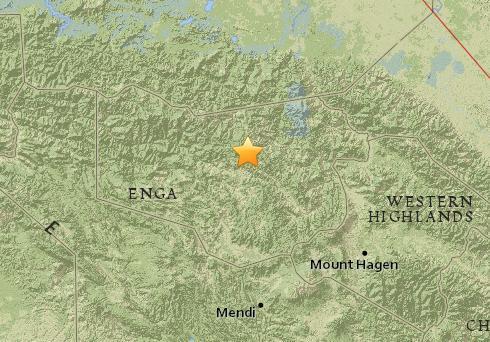 巴布亚新几内亚发生5.2级地震震源深度109公里