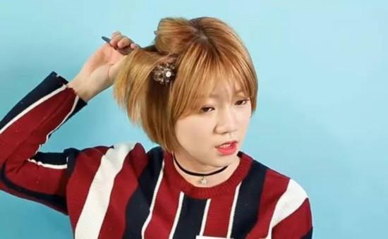 什么自己剪了短发总是和明星不一样?原因在于上宽下窄弧度