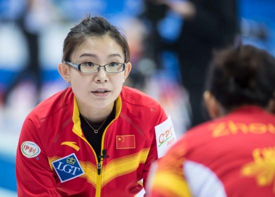 女子冰壶世锦赛开赛【5】