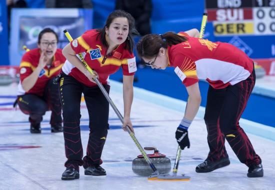 女子冰壶世锦赛开赛【6】