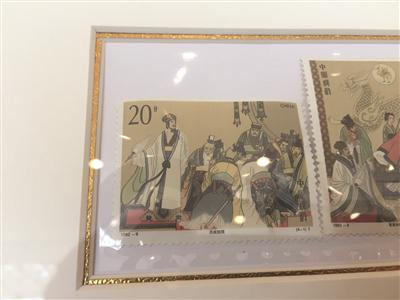 《三国演义》邮票中,诸葛亮出现最多。