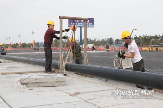 2条主管道8月建成 滨海新城明年初全面实现燃气供应