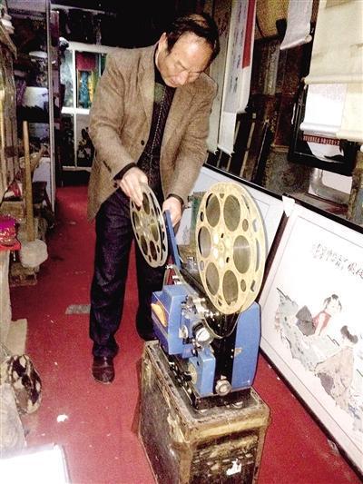 60岁老人想开放映室