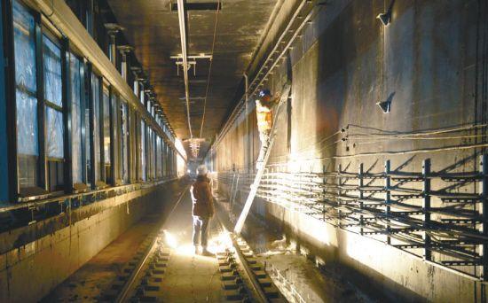 地铁二号线北延线年底将通车试运行