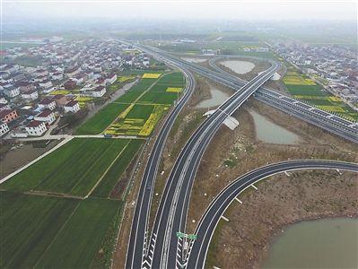 泰州东绕城高速建成 将方便市民出行