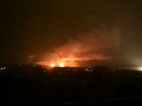乌克兰一弹药库发生爆炸 伤亡情况暂未公布