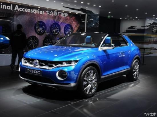 最快今夏欧洲开卖 大众推小型SUV T-ROC