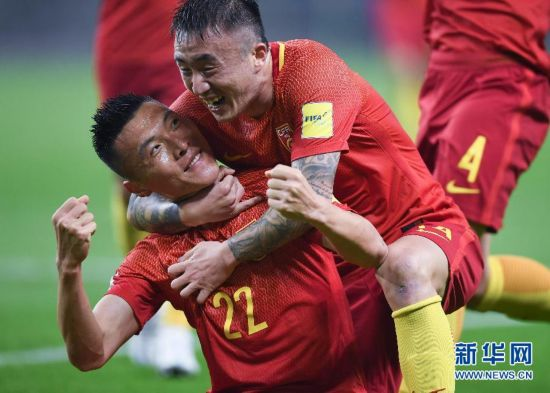 厉害了我的国足!中国队1:0力克韩国队