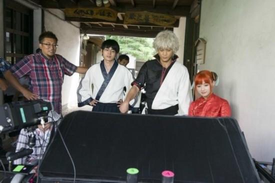 《银魂》真人电影公布大量幕后照 定春将使用全CG制作