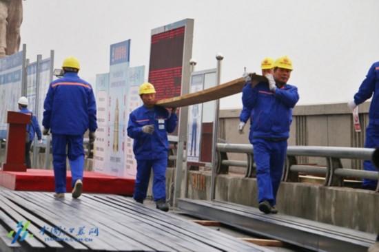 封闭近5个月 探访维修中的南京长江大桥