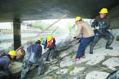 南京鼓楼区12条黑臭河3月24日起全面施工