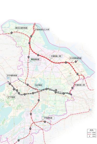 苏州将建五条铁路 未来每个县市都有火车站