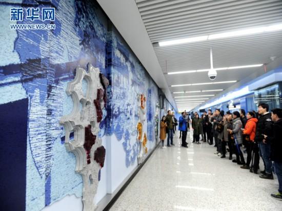 苏州轨交4号线试运行 全程设38个站点
