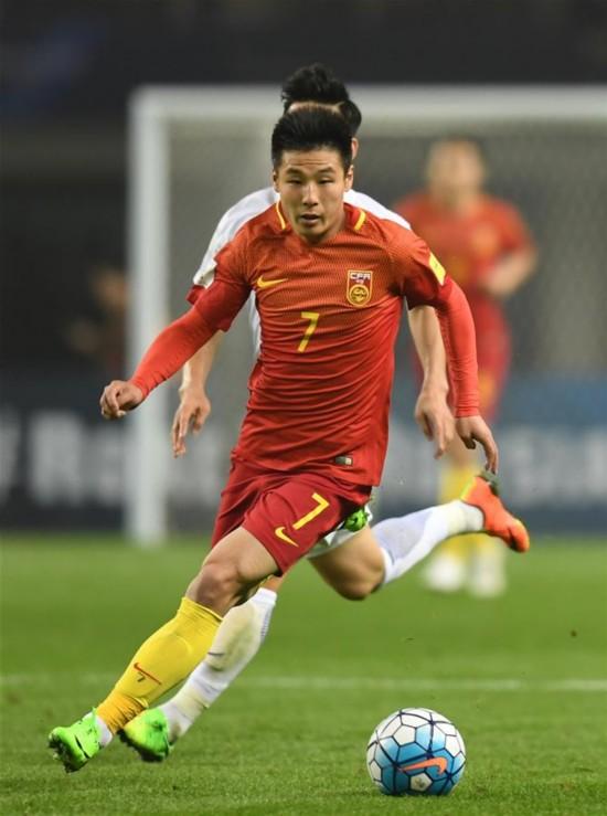 高清组图:世预赛-中国队1-0战胜韩国队